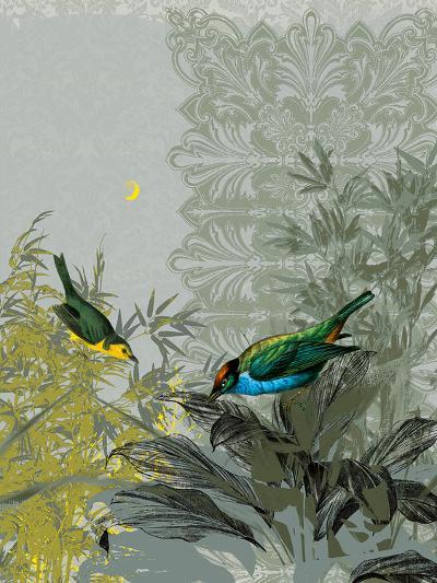 Birdsong at Dusk-Ken Hurd-Art Print