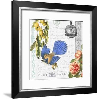 Birdwatchers Dream 1-Jean Plout-Framed Giclee Print