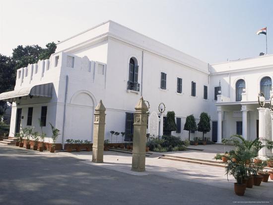 Birla House, in the Grounds of Which Mahatma Gandhi was Assassinated, Delhi, India-John Henry Claude Wilson-Photographic Print