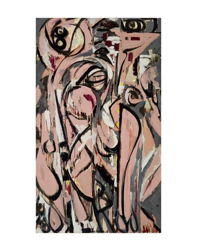 Birth, 1956-Lee Krasner-Art Print