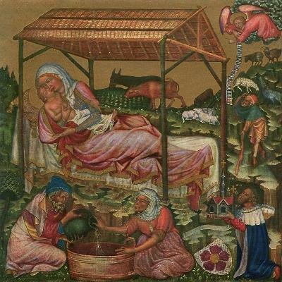 Birth of Christ, C1350--Giclee Print