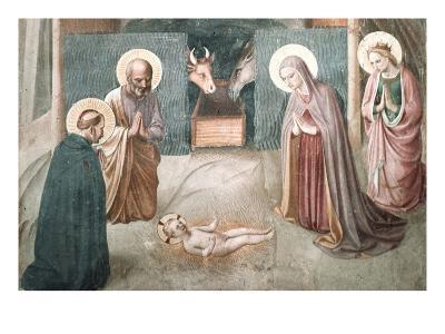 Birth of Christ-Fra Angelico-Art Print