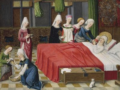 Birth of the Virgin, 1485--Giclee Print