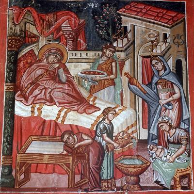 Birth of the Virgin Mary, 1494-Philippos Goul-Giclee Print