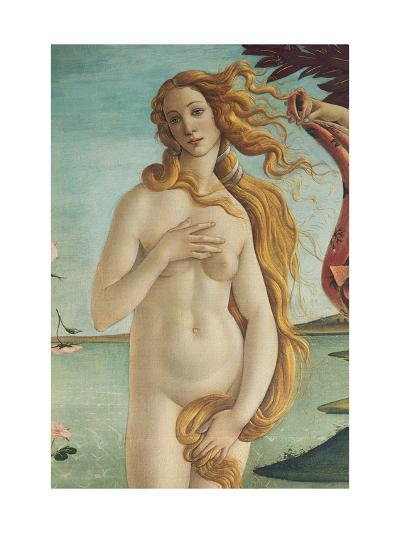 Birth of Venus, Venus-Sandro Botticelli-Art Print