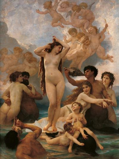 Birth of Venus-Thomas Couture-Art Print
