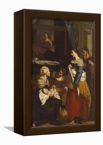 Birth of Virgin-Francesco Guarino-Framed Stretched Canvas Print