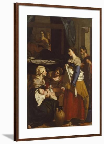 Birth of Virgin-Francesco Guarino-Framed Giclee Print