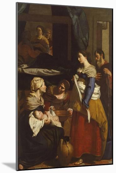 Birth of Virgin-Francesco Guarino-Mounted Giclee Print