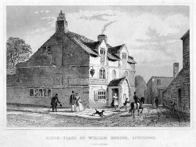 Birth-Place of William Roscoe, Liverpool, Lancashire, 19th Century--Giclee Print