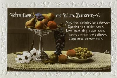 Birthday Card, C1931--Giclee Print