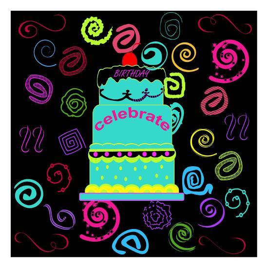 Birthday Fun-Sheldon Lewis-Art Print