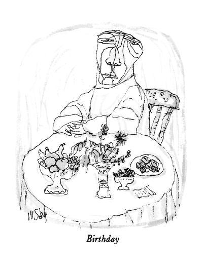 Birthday - New Yorker Cartoon-William Steig-Premium Giclee Print