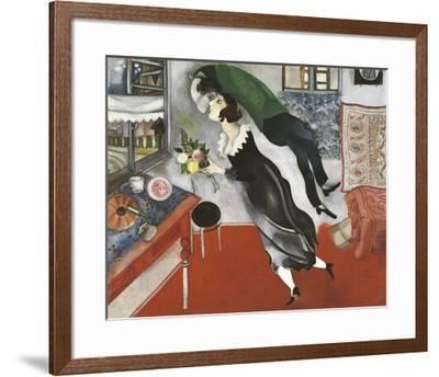 Birthday-Marc Chagall-Framed Art Print