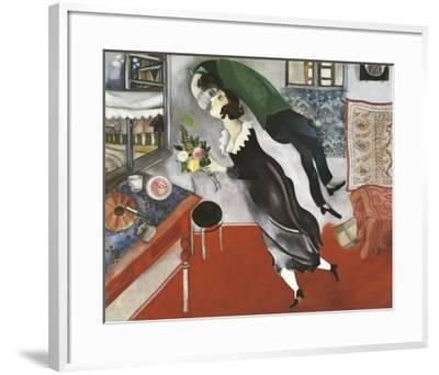 Birthday-Marc Chagall-Framed Art Print