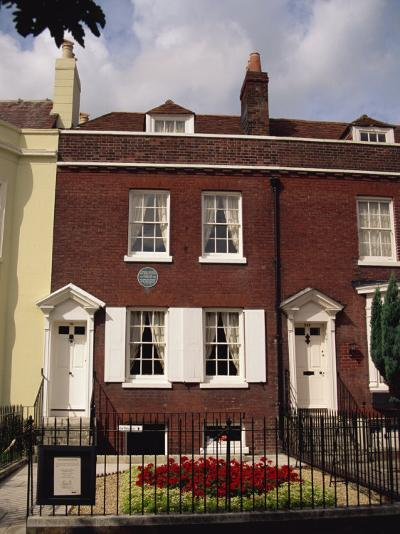 Birthplace of Charles Dickens, Portsmouth, Hampshire, England, United Kingdom, Europe-Jean Brooks-Photographic Print