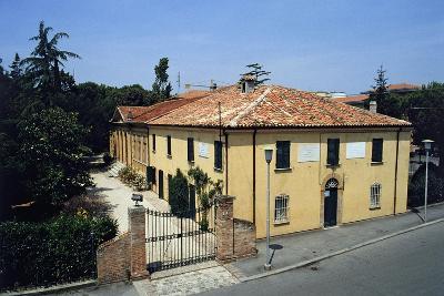Birthplace of Giovanni Pascoli, Casa Pascoli Museum, San Mauro Pascoli, Emilia-Romagna, Italy--Giclee Print