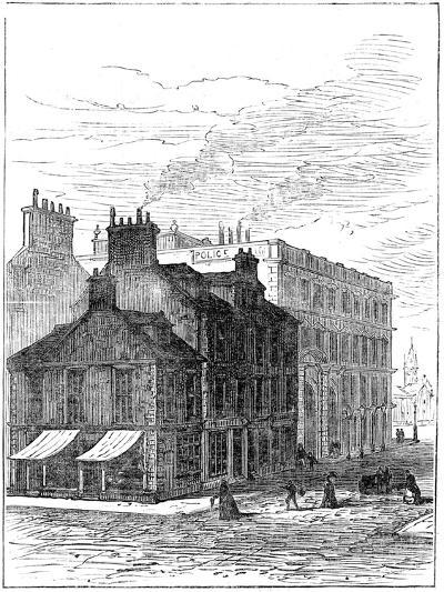 Birthplace of James Watt Shortly before it Was Demolished, 1887--Giclee Print