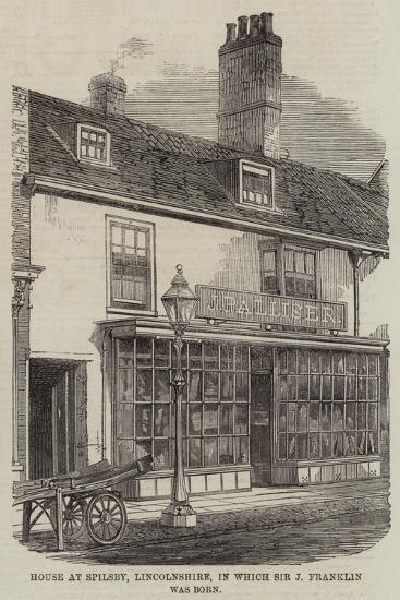Birthplace of Sir John Franklin--Giclee Print