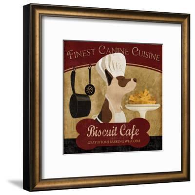 Biscuit Café-Conrad Knutsen-Framed Art Print