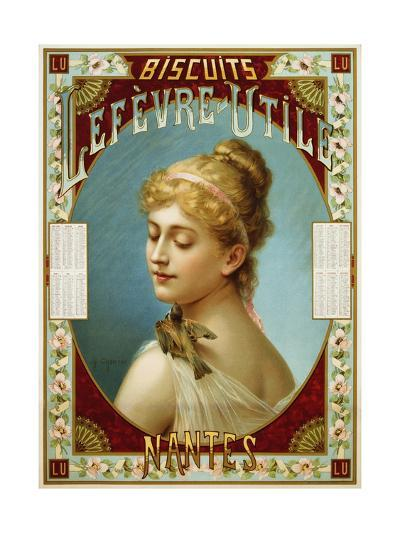 Biscuits Lefevre-Utile Poster-A.J. Chantron-Giclee Print