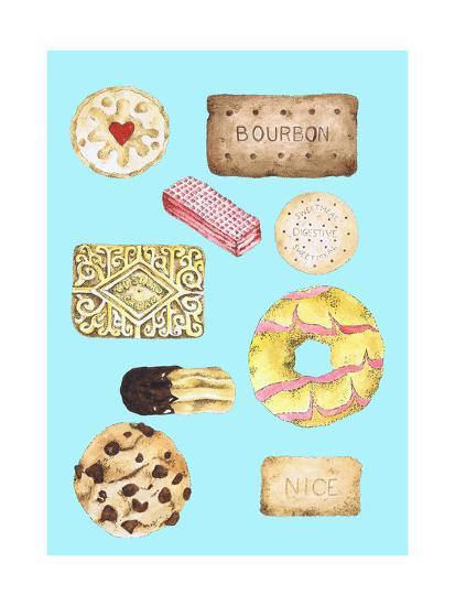 Biscuits-Alexandra Rolfe-Giclee Print