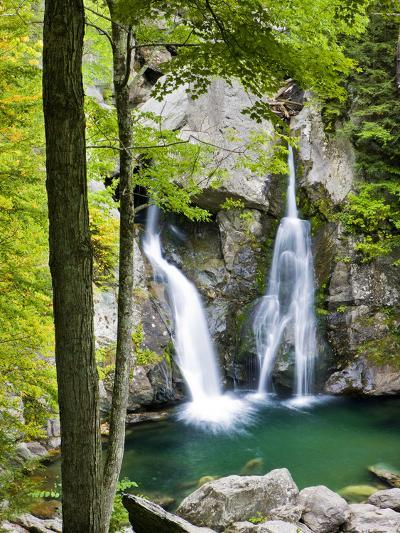 Bish Bash Falls in Bish Bash Falls State Park in Mount Washington, Massachusetts, Usa-Jerry & Marcy Monkman-Photographic Print