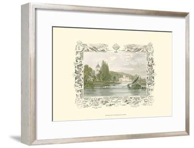 Bisham Abbey-William Tombleson-Framed Art Print