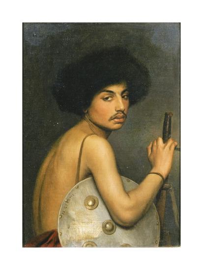 Bisharin Warrior, 1872-Jean Leon Gerome-Giclee Print