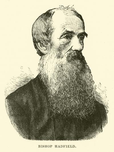 Bishop Hadfield--Giclee Print