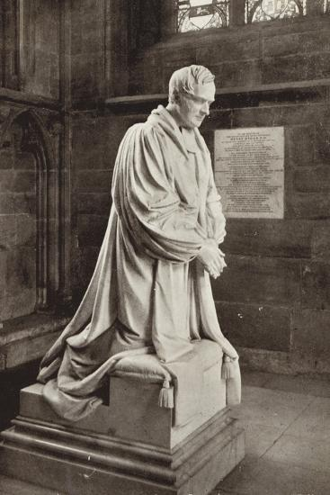 Bishop Ryder's Monument, Lichfield Cathedral, Staffordshire--Photographic Print