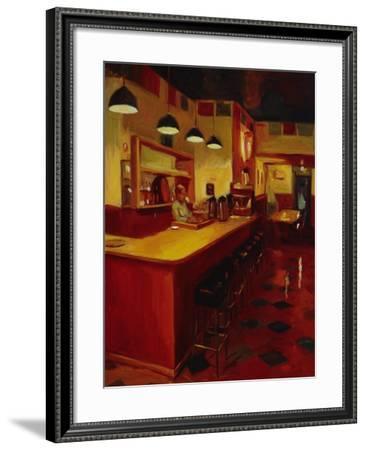 Bishop's Cafe-Pam Ingalls-Framed Giclee Print
