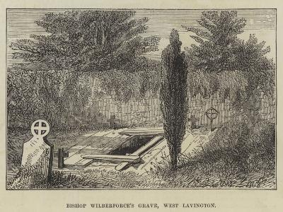 Bishop Wilberforce's Grave, West Lavington--Giclee Print