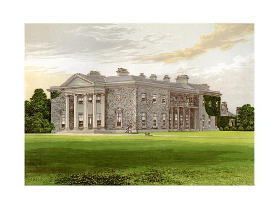 Bishopscourt, County Kildare, Ireland, Home of the Earl of Clonmel, C1880-AF Lydon-Giclee Print