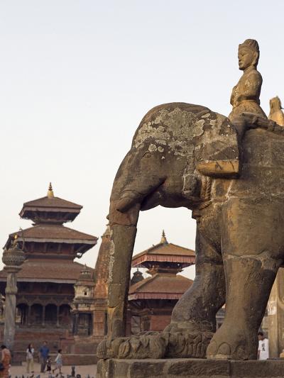 Bishwanath Mandir, Durbar Square, UNESCO World Heritage Site, Patan, Kathmandu Valley, Nepal, Asia-Christian Kober-Photographic Print