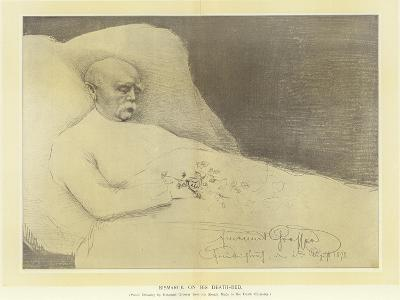 Bismarck on His Death Bed--Giclee Print