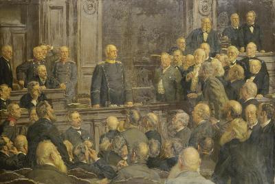 Bismarcks Letzte Reichstagsrede Am 6 Februar 1888-Ernst Henseler-Giclee Print