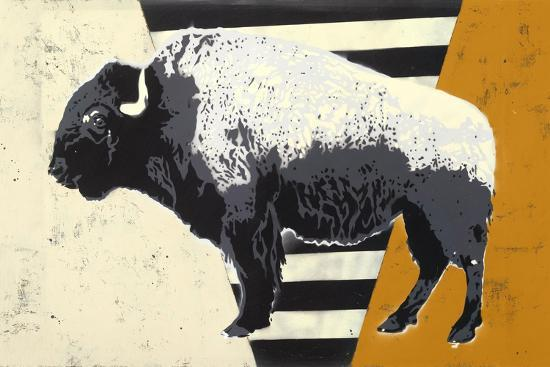 Bison-Urban Soule-Premium Giclee Print
