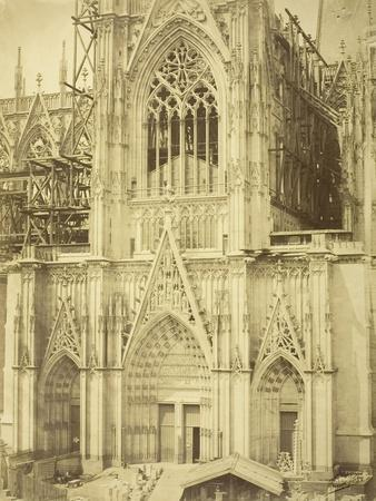 Cologne Cathedral, South Transept, 1854