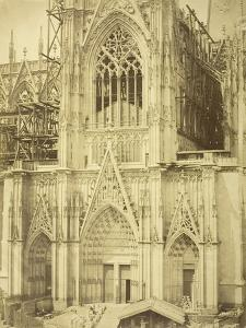 Cologne Cathedral, South Transept, 1854 by Bisson Freres Studio