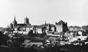 View of Lausanne, circa 1856-60 by Bisson Freres Studio