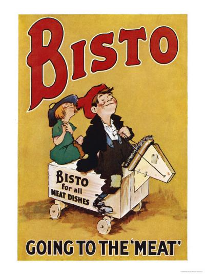 Bisto the Bisto Kids Bisto Gravy, Going to the Meat--Giclee Print