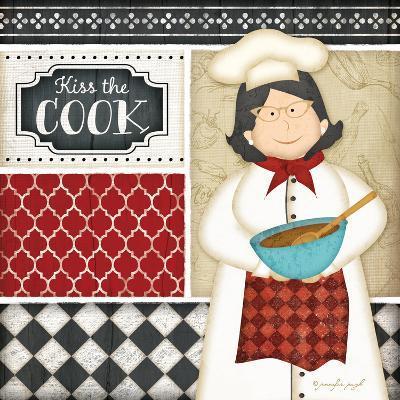 Bistro Chef 2-Jennifer Pugh-Art Print