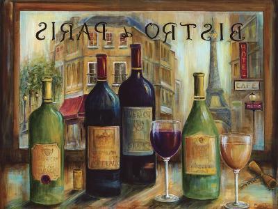 Bistro De Paris-Marilyn Dunlap-Art Print