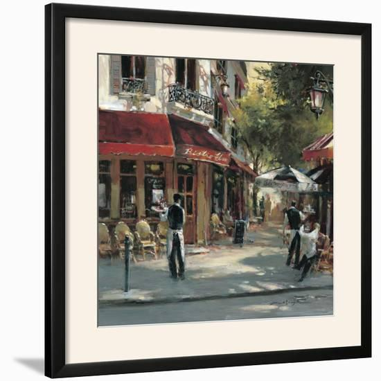 Bistro Waiters-Brent Heighton-Framed Art Print