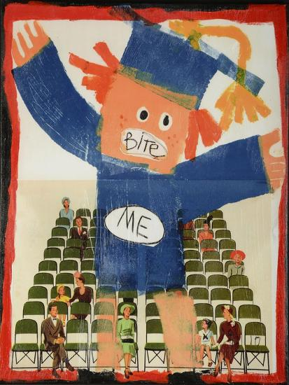 Bite Me-Jennie Cooley-Giclee Print