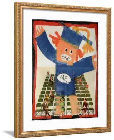 Bite Me-Jennie Cooley-Framed Giclee Print