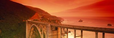 Bixby Bridge, Big Sur, California, USA--Photographic Print