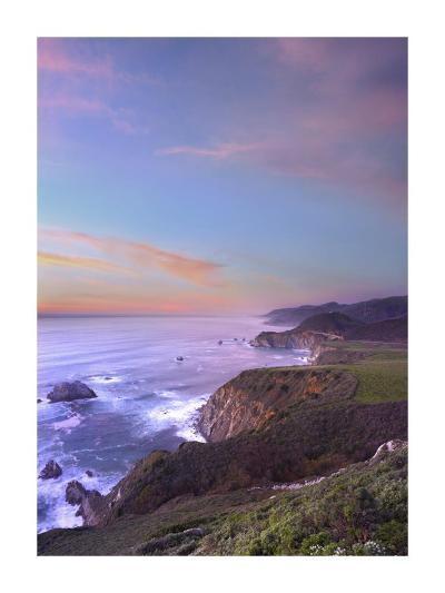 Bixby Bridge, Big Sur, California-Tim Fitzharris-Art Print