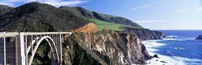 Bixby Creek Bridge, Big Sur, California, USA--Photographic Print